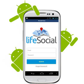 LifeSocial Rideshare Android App is coming soon.