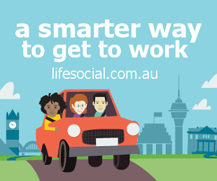 A smarter way to get to work - LifeSocial Rideshare.