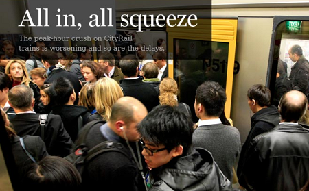 CityRail Services are worse than ever in 2014