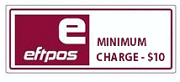 EFTPOS Minimum - $10