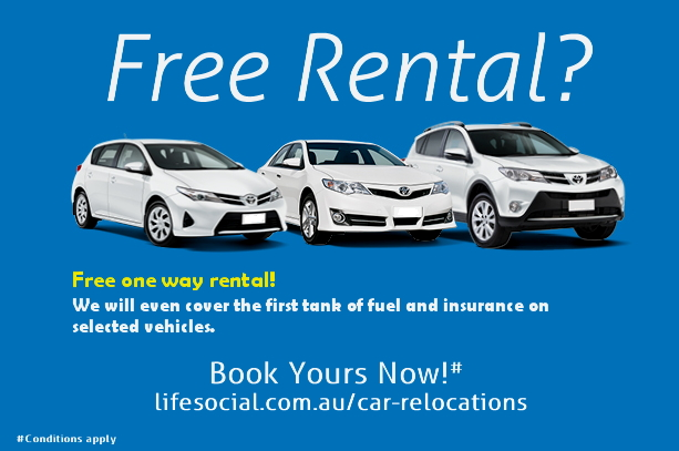 Free One Way Car and Campervan Hire - LifeSocial Rideshare.
