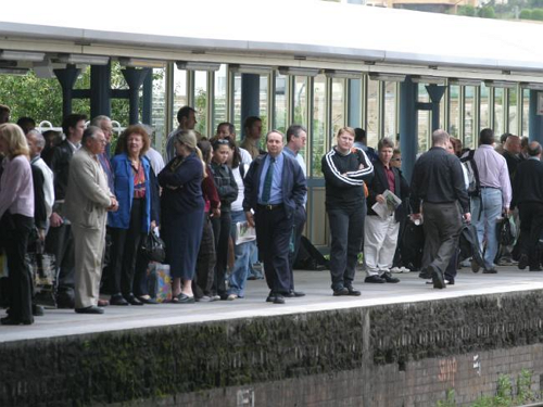 Central Coast Trains running late